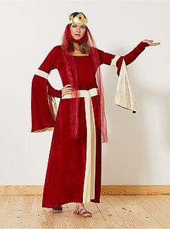 Mulher Fato de princesa medieval