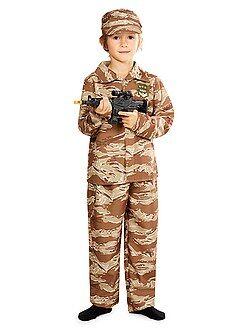 Criança Fato de soldado