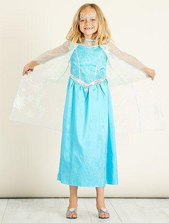 a74fd27bd1 Criança - Fato  Elsa  do  Frozen  - Kiabi