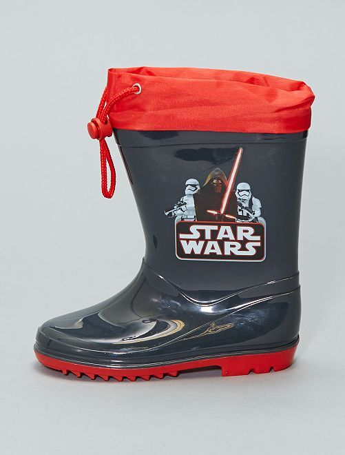 Galochas 'Star Wars'                             Preto