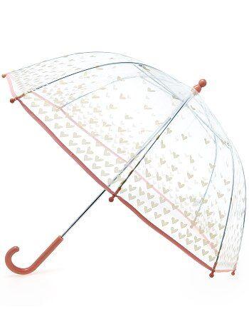 Guarda-chuva transparente com estampado de fantasia - Kiabi