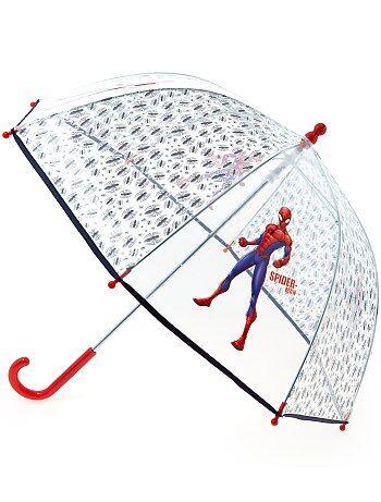 Guarda-chuva transparente 'Homem-Aranha' - Kiabi
