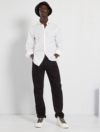 Jean regular 5 poches longueur US 32 - Kiabi