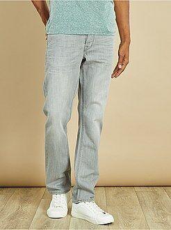 Jeans - Jean regular 5 poches longueur US 32 - Kiabi