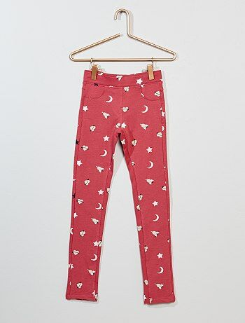 Jeggings elásticos estampados - Kiabi