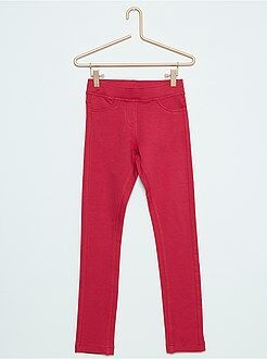Jeans - Jeggings em moletão
