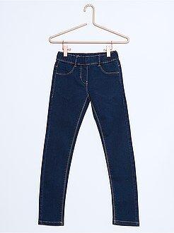 Jeans - Jeggings ganga elástica