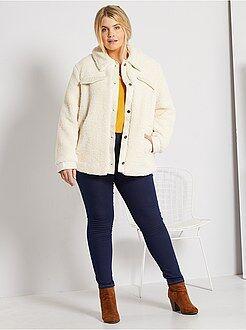 Jeans - Jeggings skinny elásticas L30