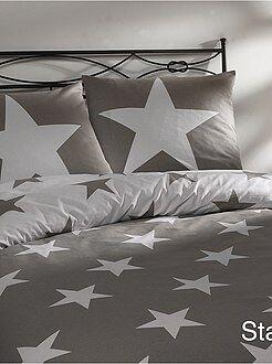 Roupa de cama criança - Jogo de cama de solteiro com estampado estrelas