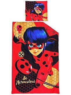 Jogo de cama 'Miraculous Ladybug' - Kiabi