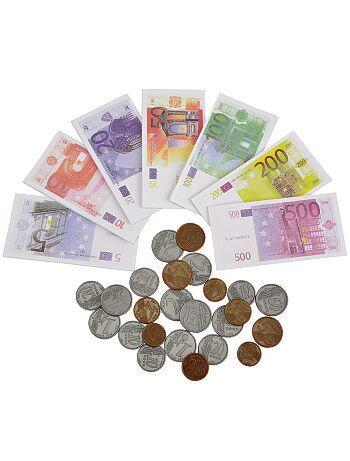 Jogo de moedas e notas - Kiabi