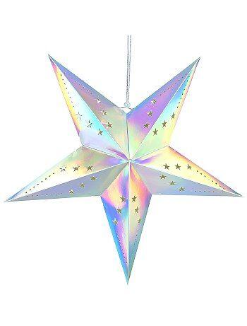 Lanterna estrela 60cm - Kiabi