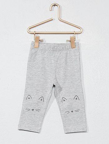 Leggings com desenho gato - Kiabi