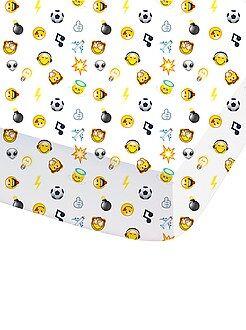Lençol-capa com estampado 'Smiley World' - Kiabi