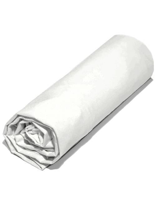 Lençol-capa liso 160 x 200 cm                     Branco Casa