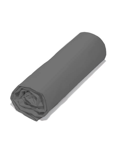 Lençol-capa liso 160 x 200 cm                                 gris Casa