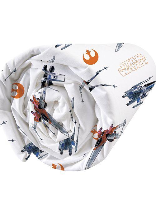 Lençol-capa 'Star Wars' de solteiro                             Branco