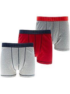Lote 3 boxers de tamanho grande