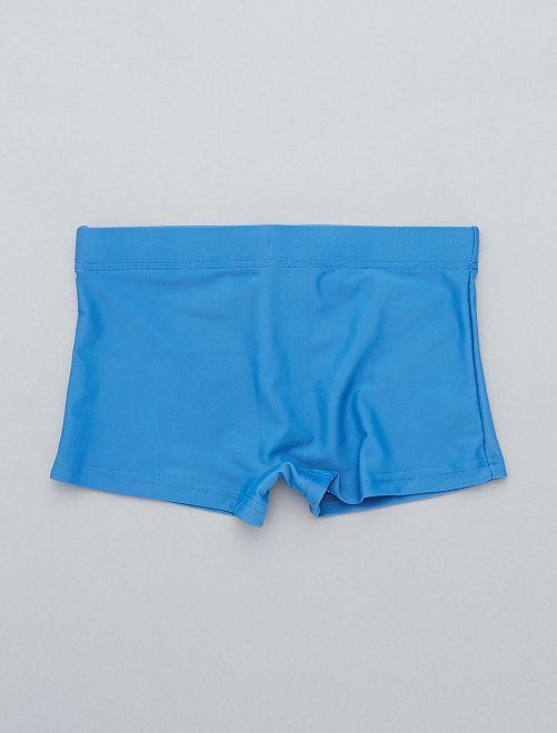 57002253937d Lote de 2 calções de banho Menino 3-12 anos - AZUL - Kiabi - 8,00€