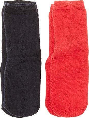 Lote de 2 pares de meias antiderrapantes - Kiabi