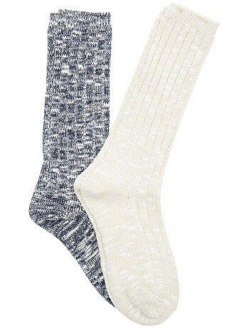 Lote de 2 pares de meias - Kiabi