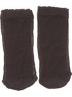 Lote de 2 pares de meias curtas