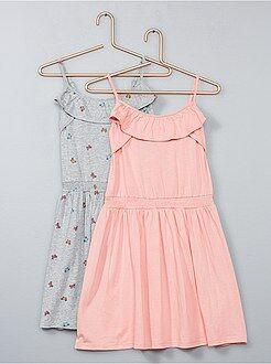 Lote de 2 vestidos leves - Kiabi