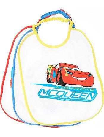 Lote de 3 babetes 'Faísca McQueen' da 'Disney' - Kiabi