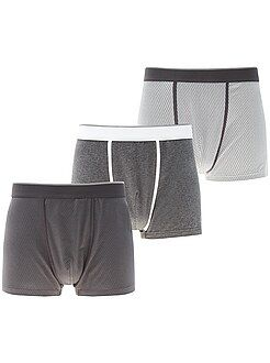 Roupa interior - Lote de 3 boxers - Kiabi