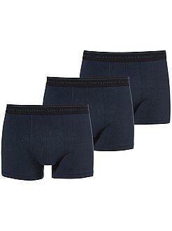 Roupa interior - Lote de 3 boxers lisos