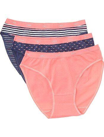 1bcb97378 Lote de lingerie Lingerie do s até xxl | rosa | Kiabi