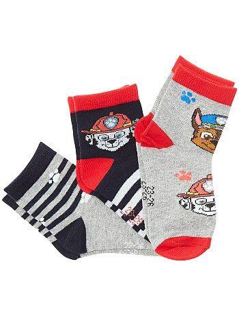 Lote de 3 pares de meias - Kiabi