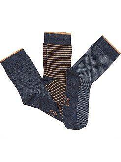 Meias - Lote de 3 pares de meias