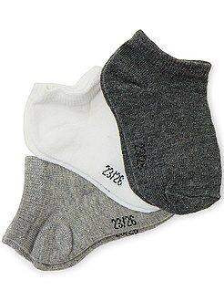 Meias - Lote de 3 pares de meias curtas