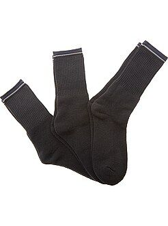 Meias - Lote de 3 pares de meias de desporto - Kiabi