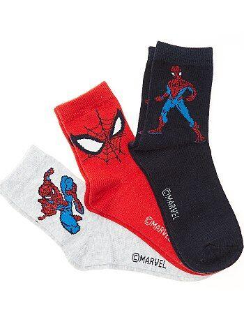 Lote de 3 pares de meias 'Homem-Aranha' da 'Marvel' - Kiabi