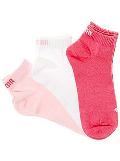 Collants, meias - Lote de 3 pares de meias 'Puma' cano curto