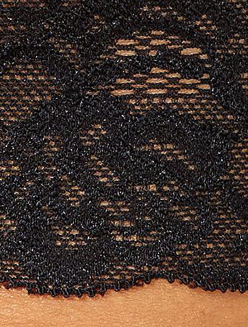 07d0c3849 Lote de 3 tangas em renda Lingerie do s até xxl - Marrom - Kiabi - 8,00€