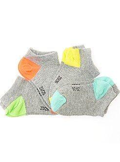 Meias - Lote de 4 pares de meias invisíveis