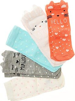 Lote de 5 pares de meias