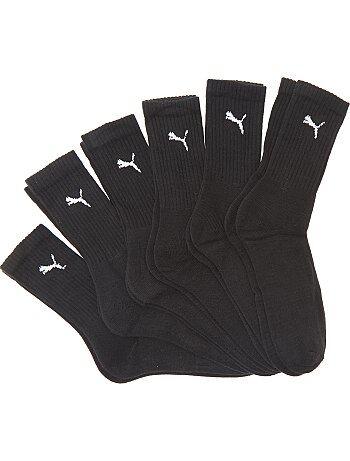 Lote de 6 pares de meias 'Puma' - Kiabi