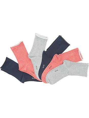 Lote de 6 pares de meias - Kiabi