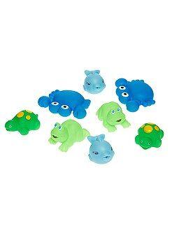 Puericultura - Lote de 8 brinquedos para o banho