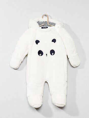 Macacão 'panda' - Kiabi