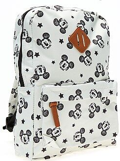 Mochila , avental de escola - Mochila de tamanho médio do 'Mickey Mouse' - Kiabi