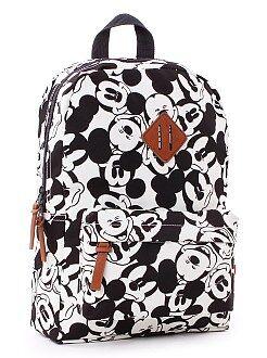 Mochila , avental de escola - Mochila de tamanho médio do 'Mickey' - Kiabi