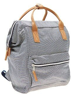 Mochila , avental de escola - Mochila em lona - Kiabi