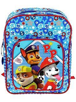 Mochila , avental de escola - Mochila 'Patrulha Pata' - Kiabi