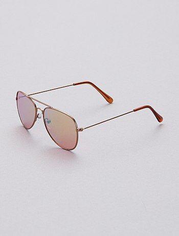 6f5a9c3727e46 Menina 3-12 anos - Óculos de sol tipo aviador - Kiabi