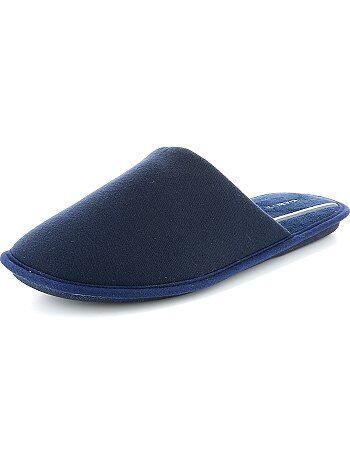 Pantufas tipo chinelas em jersey                                         Azul Naval Homem do s até xxl